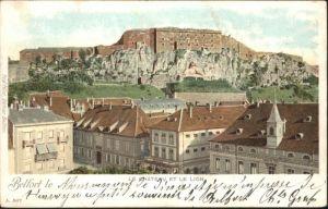 Belfort Alsace Belfort Sanatorium et le Lion x / Belfort /Arrond. de Belfort