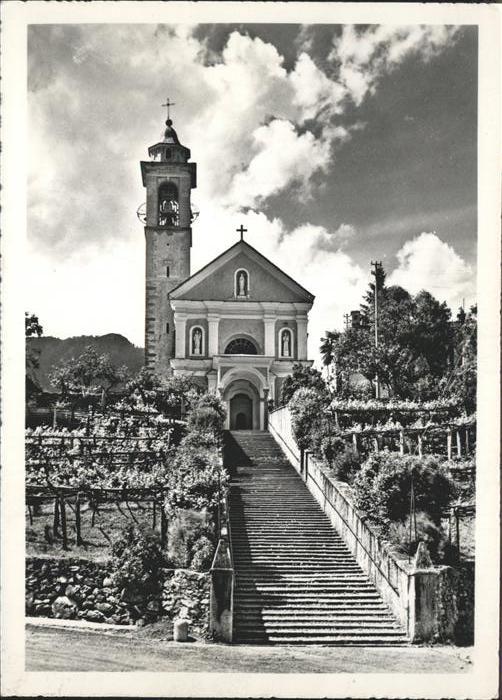 Maggia Chiesa Parrocchiale Kat. Maggia