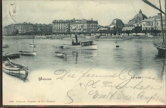 Geneve GE Port Hafen Kat. Geneve