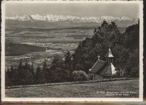 Magglingen Alpen Kirche Feldpost Kat. Magglingen