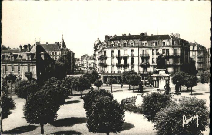 Belfort La Place de la Republique le Boulevard Carnot *