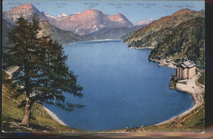 Piora Lago Ritom Kat. Quinto
