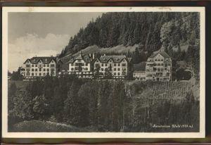Wald AR Vorderland Sanatorium Wald Kat. Wald