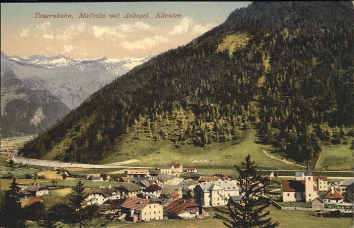 Tauernbahn Mallnitz Ankogel Kat. Bad Gastein