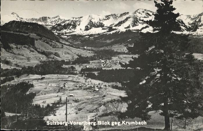 Sulzberg Vorarlberg Krumbach Kat. Sulzberg