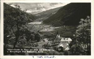 wz57452 Radenthein St. Peter Feld am See Mittagskogel Kategorie. Radenthein Alte Ansichtskarten