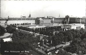 Wien Heldenplatz Burg Kat. Wien