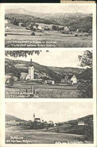 Muehlen Steiermark Teilansichten Hitzmannsdorf Zirbitz St. Helen Schulhaus Muehlen Kat. Muehlen