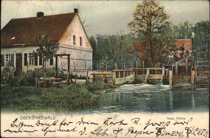 Spreewald Ober-Spreewald Kat. Luebbenau
