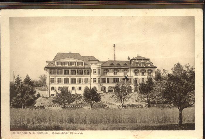 Herzogenbuchsee Bezirks Spital Kat. Herzogenbuchsee