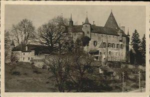 Oron la Ville Chateu d`Oron  Kat. Oron la Ville