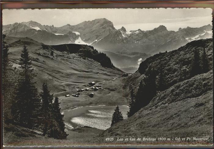 Villars sur Ollon Lac et Col de Bretaye Gd et Pt Muveran Kat. Villars sur Ollon
