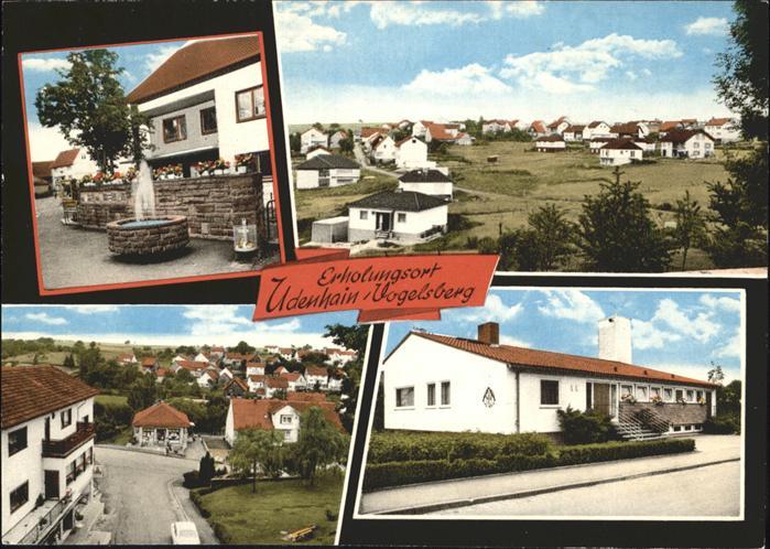 Udenhain Orts und Teilansichten Kat. Brachttal
