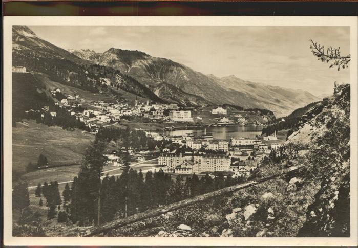 St Moritz GR St Moritz Dorf und Bad Kat. St Moritz