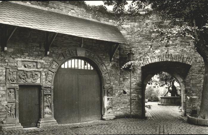 Remagen Portal Marienbrunnen Kat. Remagen