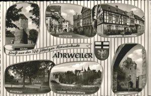 Ahrweiler Ahr Ahrtor Kuranstalt Kloster Kalvarienberg / Bad Neuenahr-Ahrweiler /Ahrweiler LKR