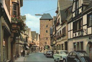 Ahrweiler Ahr Ahrhutstrasse Ahrtor / Bad Neuenahr-Ahrweiler /Ahrweiler LKR