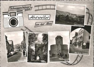 Ahrweiler Ahr Ahrhutstrasse Obertor Ahrtor / Bad Neuenahr-Ahrweiler /Ahrweiler LKR