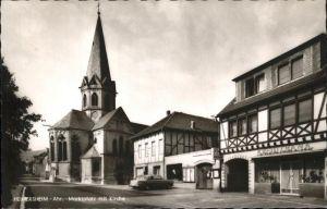 Heimersheim Ahr Marktplatz Fachwerk Kat. Bad Neuenahr Ahrweiler