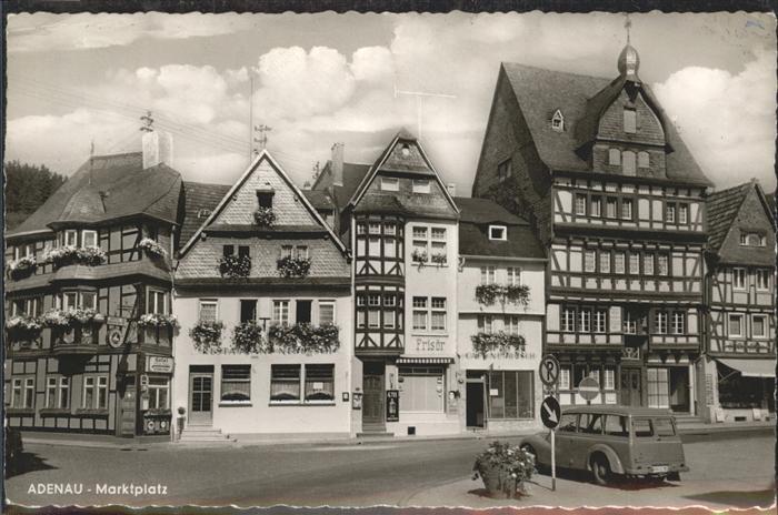 Adenau Marktplatz Auto Kat. Adenau