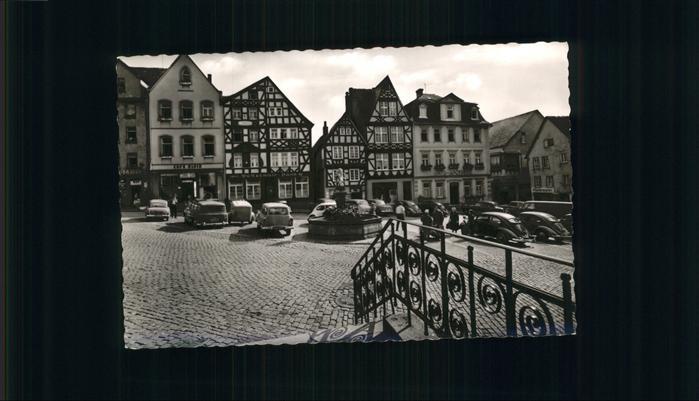 Hachenburg Alter Markt Stra Enansicht Kirche Nr 344914