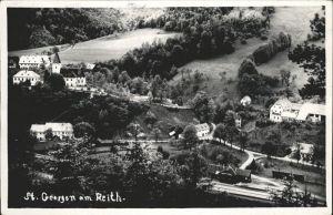 St Georgen Attergau Reith Flugaufnahme Kat. Voecklabruck