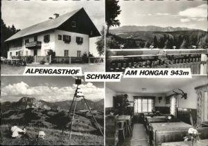 St Georgen Attergau Alpengasthof Schwarz Hongar Kat. Voecklabruck