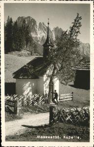 Weissbach Lofer Mooswacht Kapelle Steinberge / Weissbach bei Lofer /Pinzgau-Pongau
