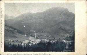 Russbach Pass Gschuett Teilansicht Russbachsaag mit Gamsfeld Tennengau Kat. Russbach am Pass Gschuett
