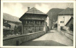 Mauterndorf Brueckenkeusche an der Fleischbruecke Kat. Mauterndorf