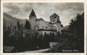 Mauterndorf Schloss Mauterndorf Kat. Mauterndorf