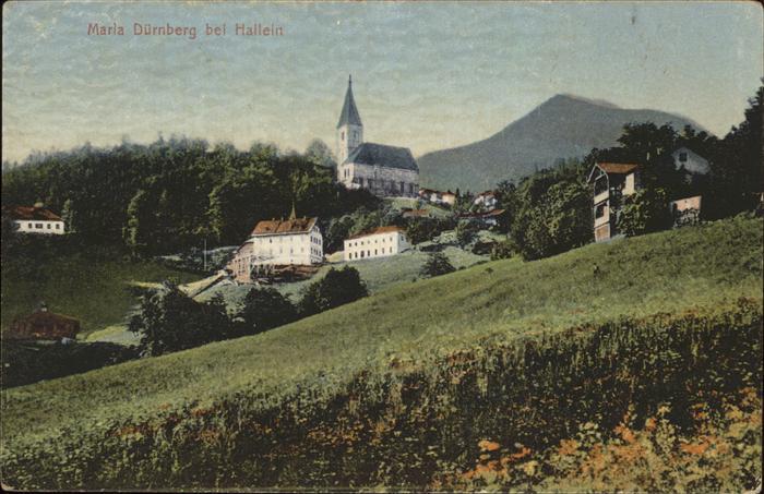 Hallein Maria Duernberg bei Hallein Kirche Tennengau Kat. Hallein
