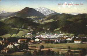 Hallein Teilansicht Hallein Hoher Goell Tennengau Kat. Hallein