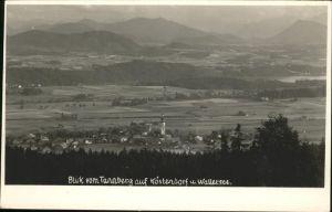 Koestendorf Panorama Koestendorf Wallersee Blick vom Tannberg Kat. Koestendorf