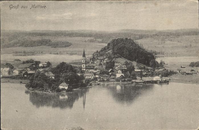 Mattsee Salzburg Gesamtansicht Mattsee See Flachgau / Mattsee /Salzburg und Umgebung