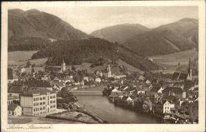 Leoben Steiermark Bruecke Kat. Leoben