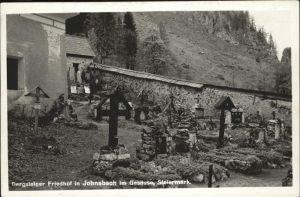 Johnsbach Bergsteiger Friedhof Gesaeuse Kat. Johnsbach