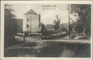 Neumarkt Steiermark Sued Ost Turm Bruecke Kat. Neumarkt in Steiermark