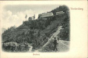 Vordernberg Berghaus Wanderer Kat. Vordernberg