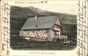 Wolfsberg Kaernten Touristenhaus Coralpe Kat. Wolfsberg