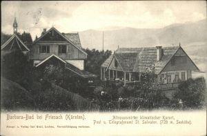 wz57396 Friesach Kaernten Barbara-Bad Kategorie. Friesach Alte Ansichtskarten