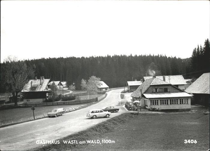 Scheibbs Gasthaus Wastl am Wald Kat. Scheibbs