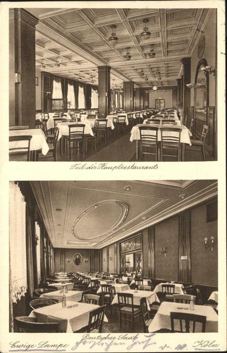 81548 ak krefeld restaurant ewige lampe john lausecker innenansicht 1911 nr 232610345610. Black Bedroom Furniture Sets. Home Design Ideas