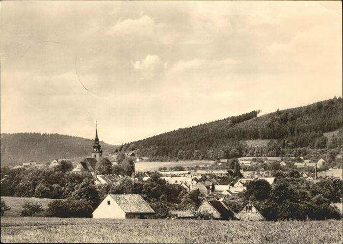 Elstra Teilansicht Elstra Kirche