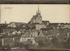Lommatzsch Teilansicht Lommatzsch Kirche