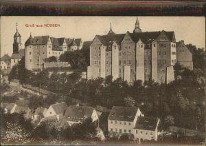 Nossen Teilansicht Nossen Schloss Kirche