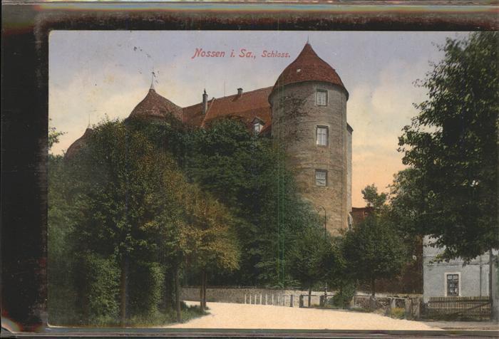 Nossen Partie am Schloss