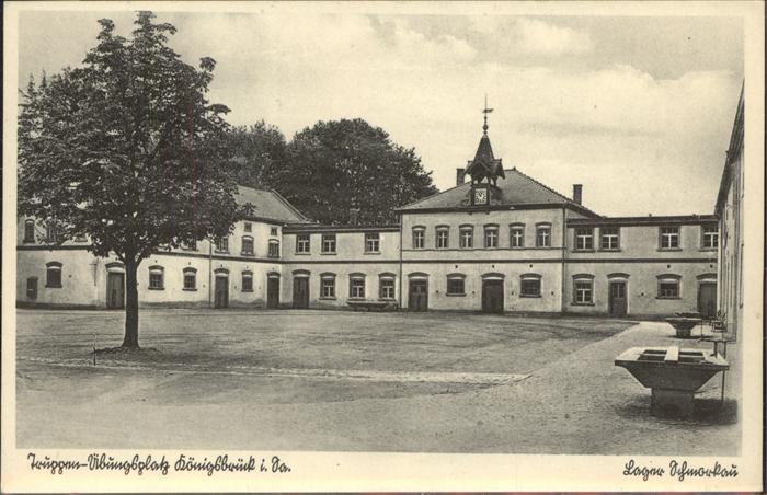 Schmorkau Truppenuebungsplatz Koenigsbrueck Lager Schmorkau Kat. Neukirch Koenigsbrueck
