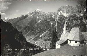 kk12052 Sankt Magdalena Lemberg Steiermark Panorama Gschnitztal Kapelle Kategorie. Sankt Magdalena am Lemberg Alte Ansichtskarten