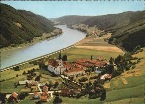 kk12208 Engelhartszell Donau Oberoesterreich Blick auf Stift Engelszell am Donau Ufer Kategorie. Engelhartszell Alte Ansichtskarten